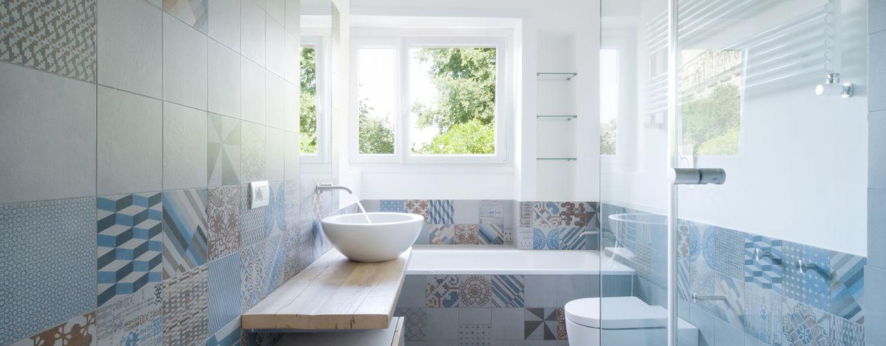 stefania eugeni Minimal style Bathroom