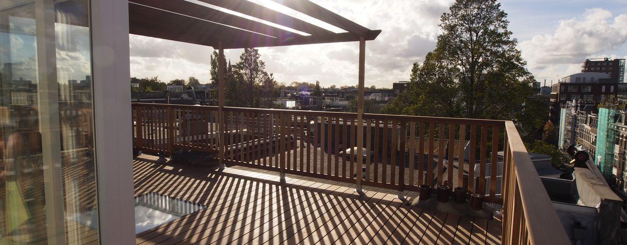Dakterras Amsterdam met dakopbouw ScottishCrown Dakterrassen Balkon, veranda & terrasAccessoires & decoratie
