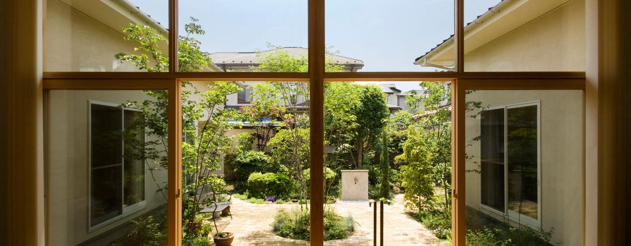 COURT HOUSE FURUKAWA DESIGN OFFICE Taman Modern