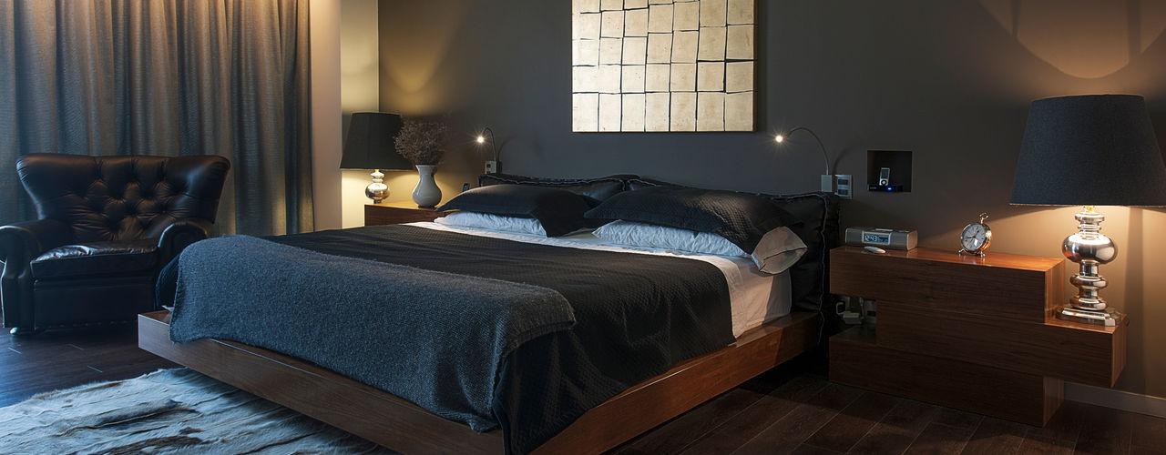 kababie arquitectos モダンスタイルの寝室