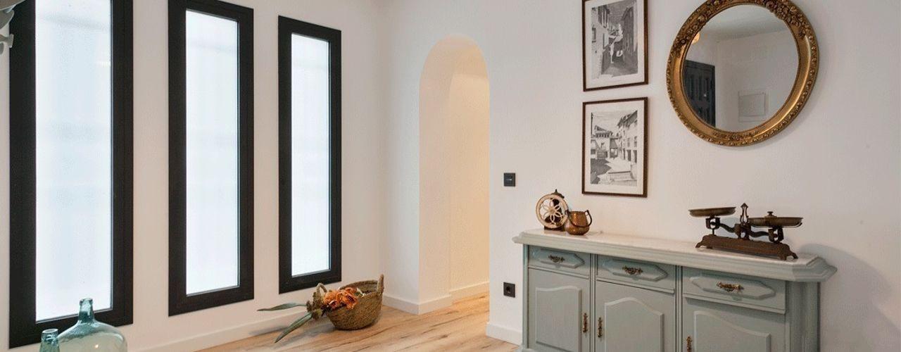 Dröm Living Ingresso, Corridoio & Scale in stile scandinavo