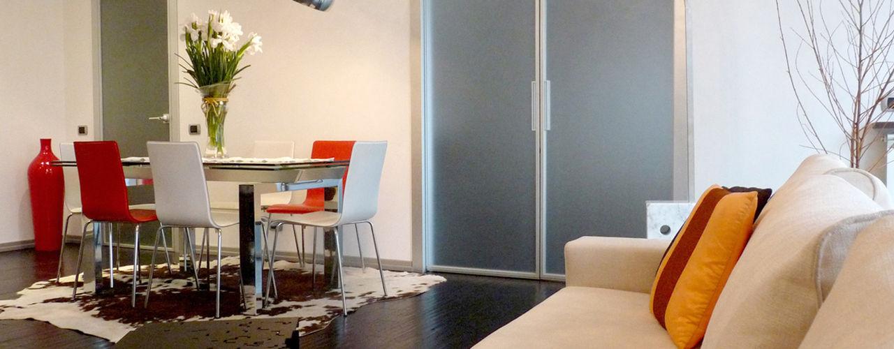 Appartamento F/T Milano Studio Zay Architecture & Design Soggiorno moderno Legno Beige