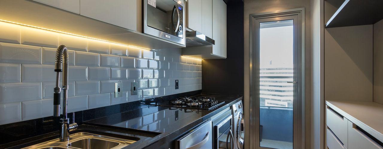 Studiodwg Arquitetura e Interiores Ltda. Modern Kitchen
