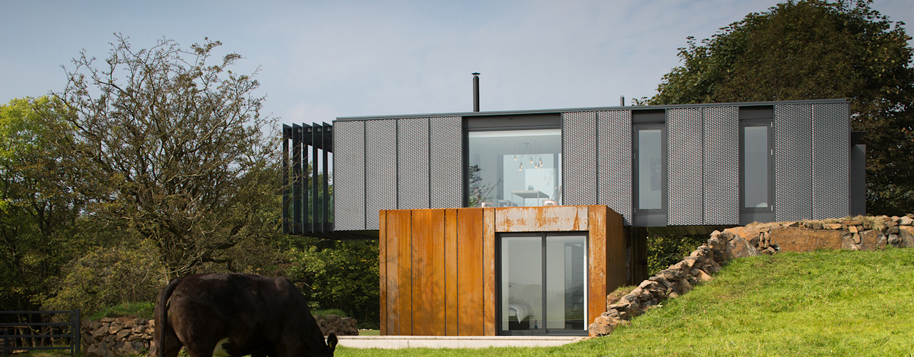 Grillagh Water Patrick Bradley Architects Maisons modernes