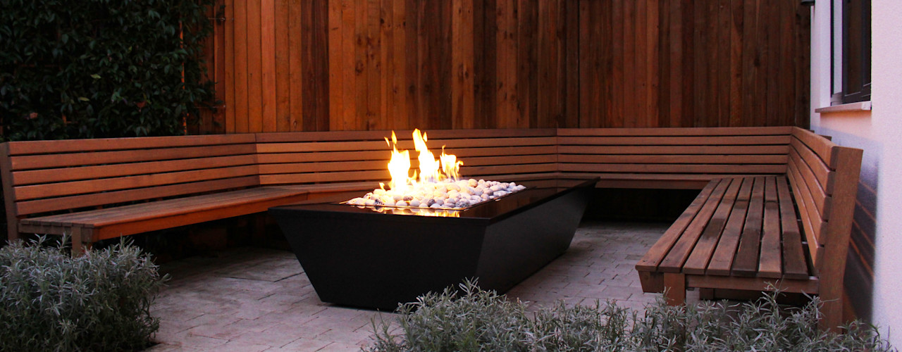 Stealth Boat Fire Table - Southampton Rivelin GartenFeuerplätze und Grill