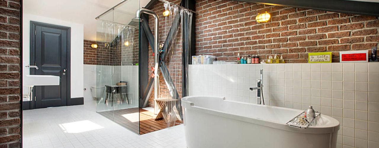 Udesign Architecture Industrial style bathroom