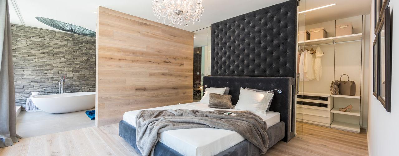 ARKITURA GmbH Dormitorios de estilo moderno