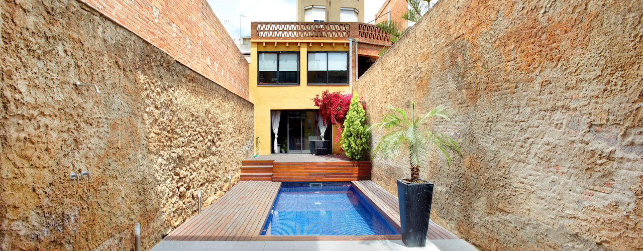 costa+dos Jardines de estilo minimalista