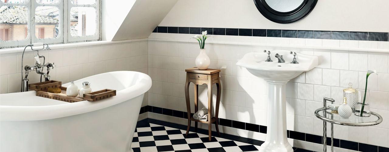 homify Kolonialna łazienka