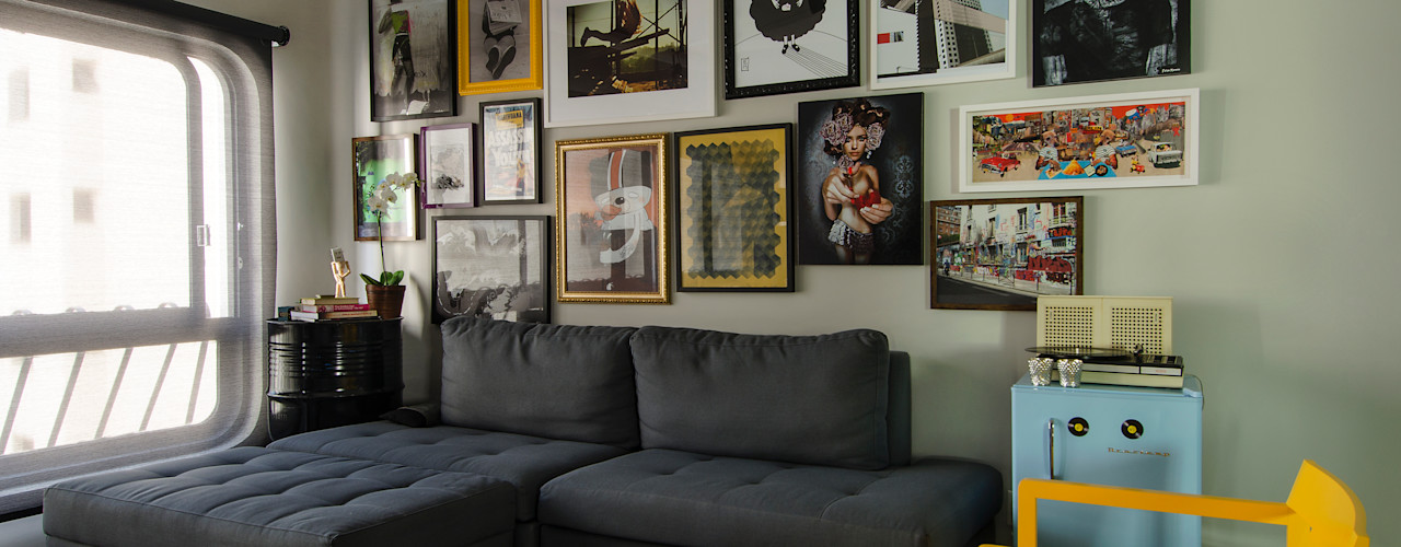 Marcella Loeb Modern living room