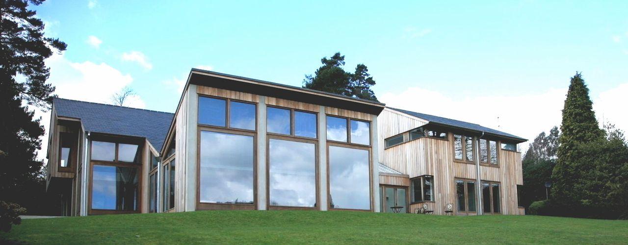 Garden view Giles Jollands Architect Modern houses