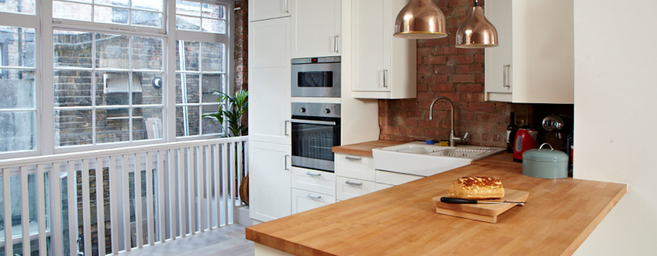 Brilliant Bethnal Green Propia Industrial style kitchen