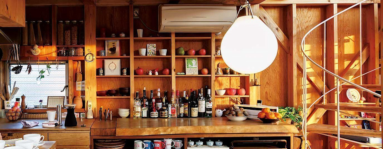 H2O設計室 ( H2O Architectural design office ) KitchenCabinets & shelves