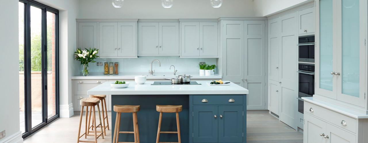 Modern meets Edwardian. Rencraft Kitchen