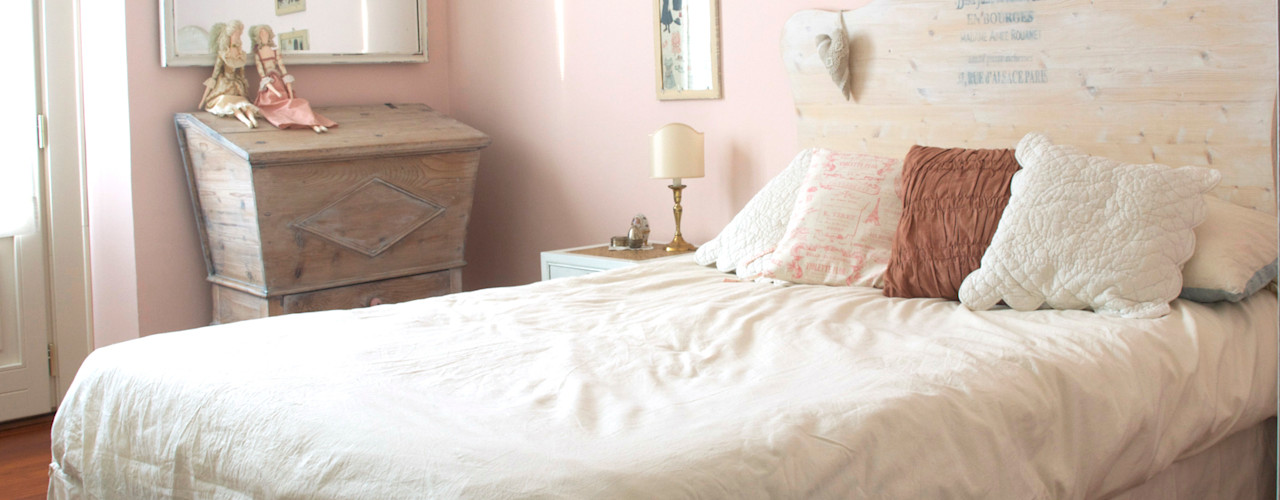 Home Relooking in stile Shabby Chic Cinzia Corbetta Camera da letto in stile classico