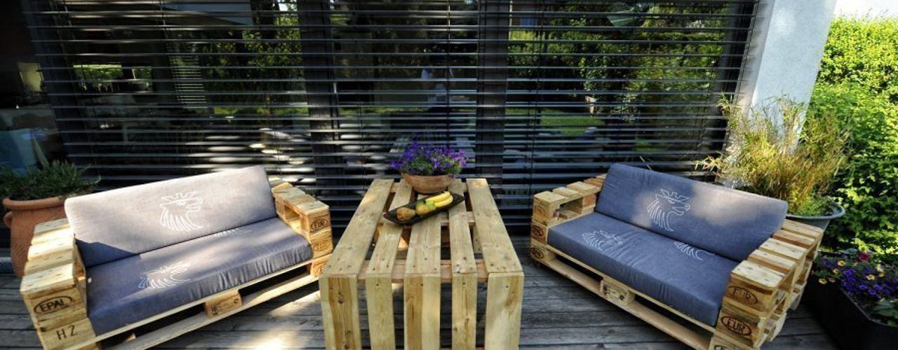 palettenmoebel.at Balconies, verandas & terraces Furniture