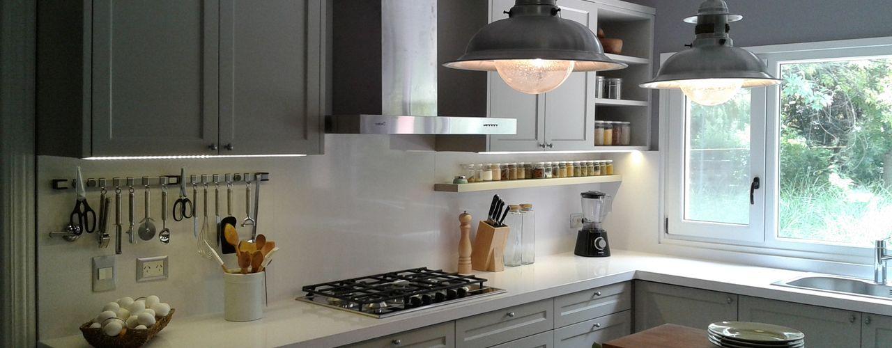 Silvina Lightowler - Diseño a medida 廚房 Grey