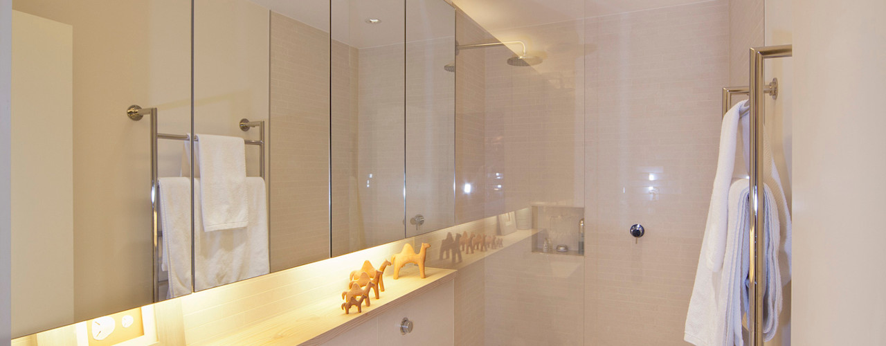 Battersea Basement & Full Refurbishment Gullaksen Architects Scandinavian style bathroom