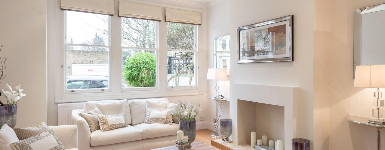 Home Staging : Grosvenor In:Style Direct Salones de estilo minimalista