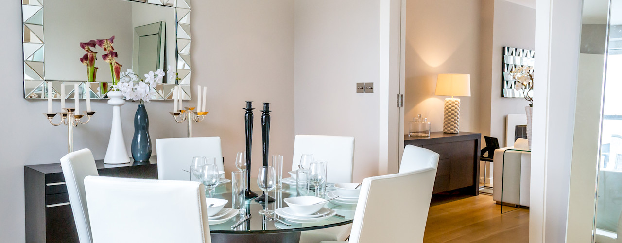 Home Staging : Roland Gardens In:Style Direct Minimalist dining room