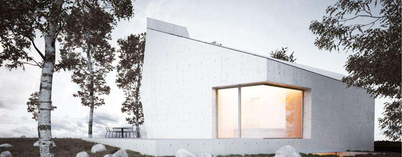 PROJECT WAS DELETED! steimle architekten Minimalistische Häuser