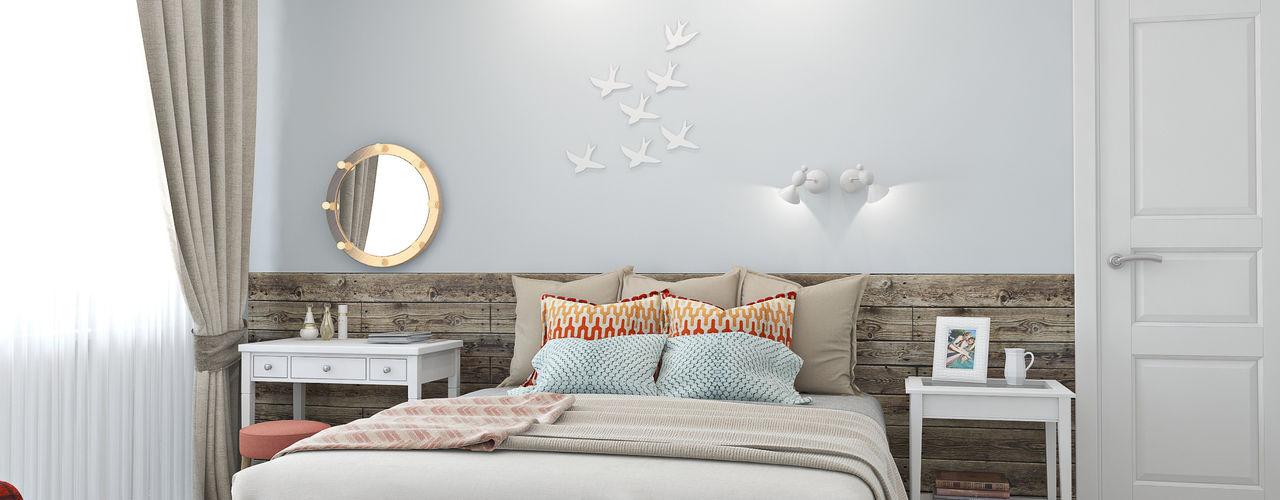 Ekaterina Donde Design Scandinavian style bedroom