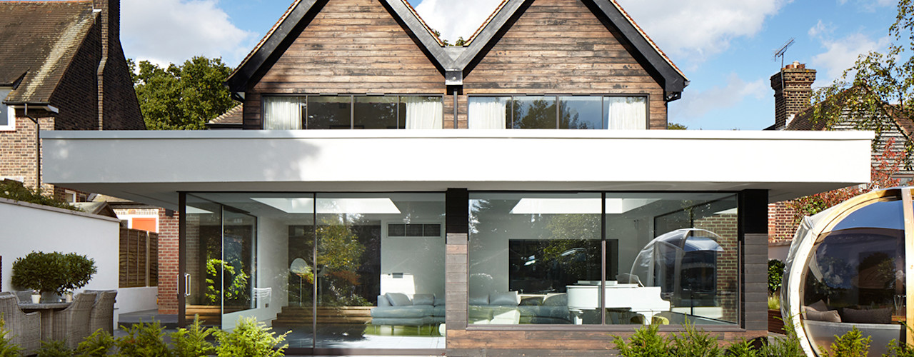 Forest View Clear Architects 露臺