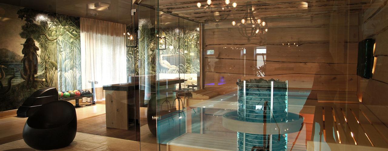 SAFRANOW Spa de estilo ecléctico
