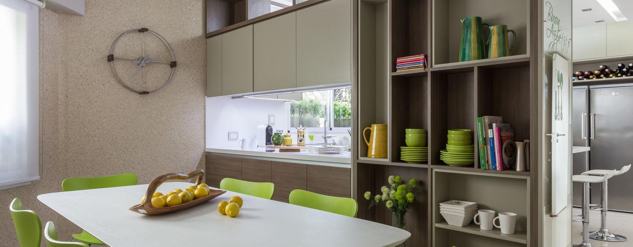 House in Belgrano GUTMAN+LEHRER ARQUITECTAS Cocinas modernas