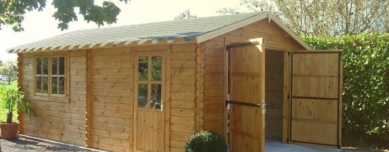 Wooden garages Quick garden LTD Garage/shed