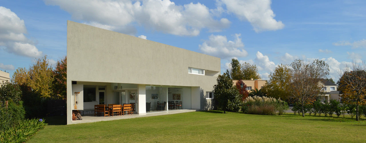 MZM | Maletti Zanel Maletti arquitectos Casas modernas