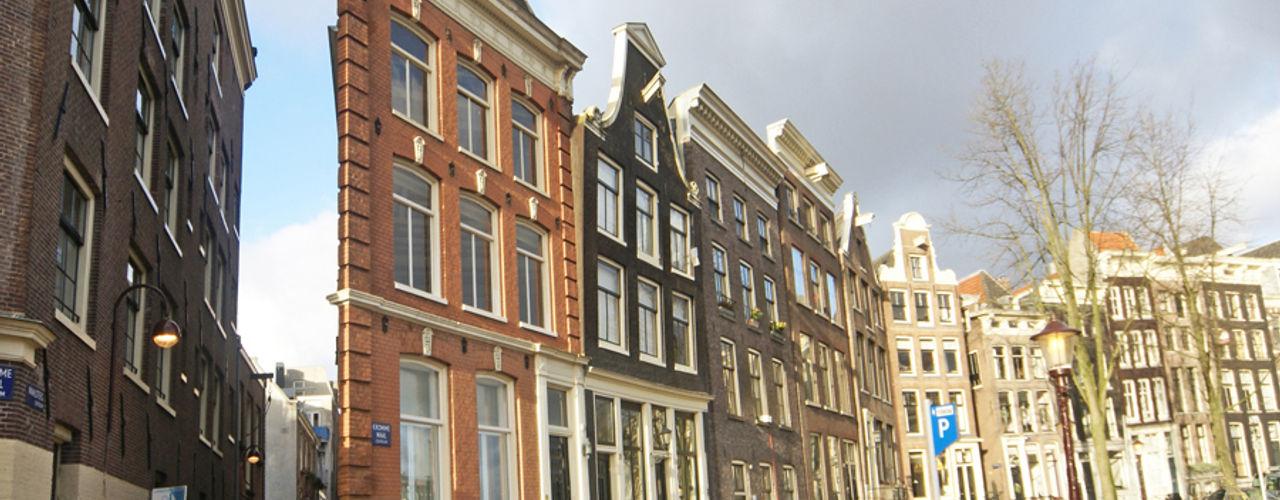 Verbouwing en renovatie gemeentelijk monument te Amsterdam BALD architecture Klassieke huizen