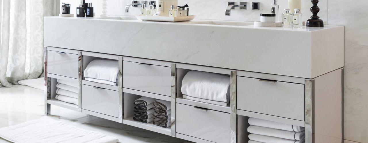 Town House, Belgravia Ligneous Designs Salle de bainRangements