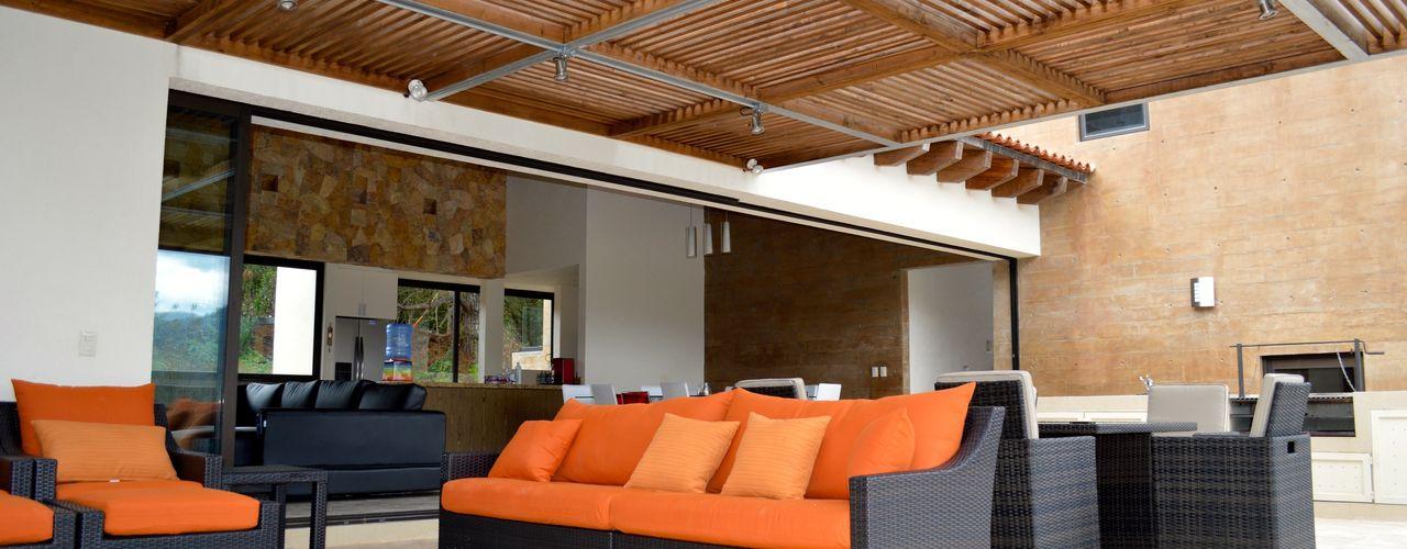 Revah Arqs Moderner Balkon, Veranda & Terrasse