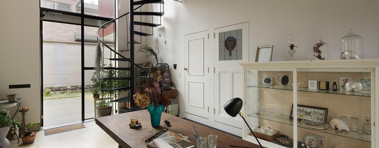 FLY 株式会社CAPD オリジナルスタイルの 玄関&廊下&階段