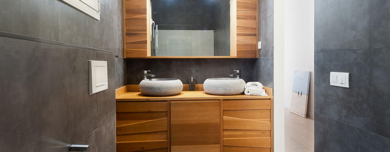 Markham Stagers Moderne Badezimmer Holz
