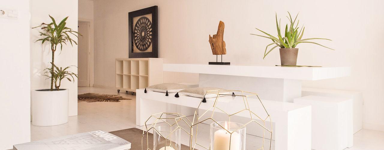 Markham Stagers غرفة المعيشة White