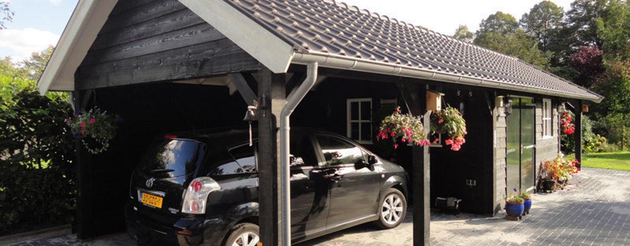Houten garages Geldersche Houtbouw Landelijke garage