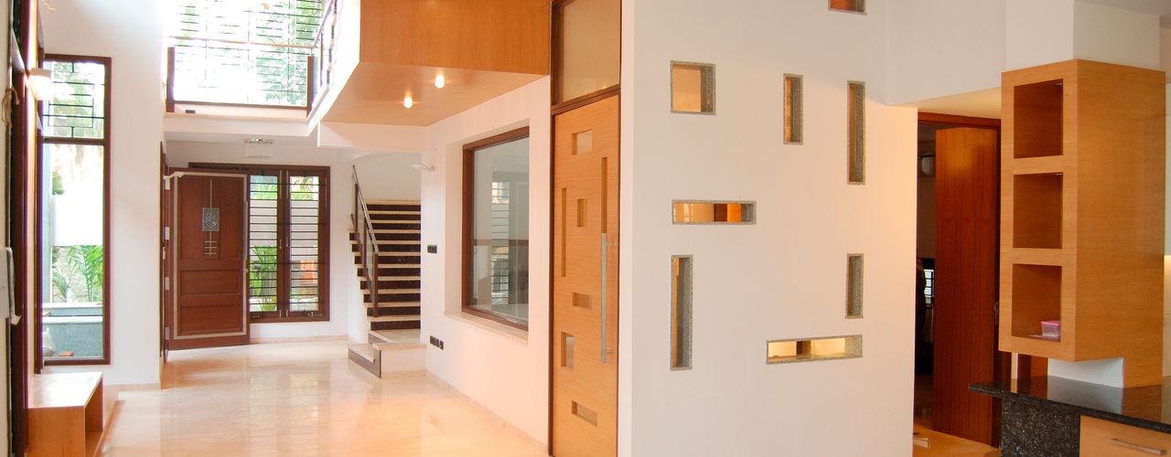 Muraliarchitects Moderne gangen, hallen & trappenhuizen