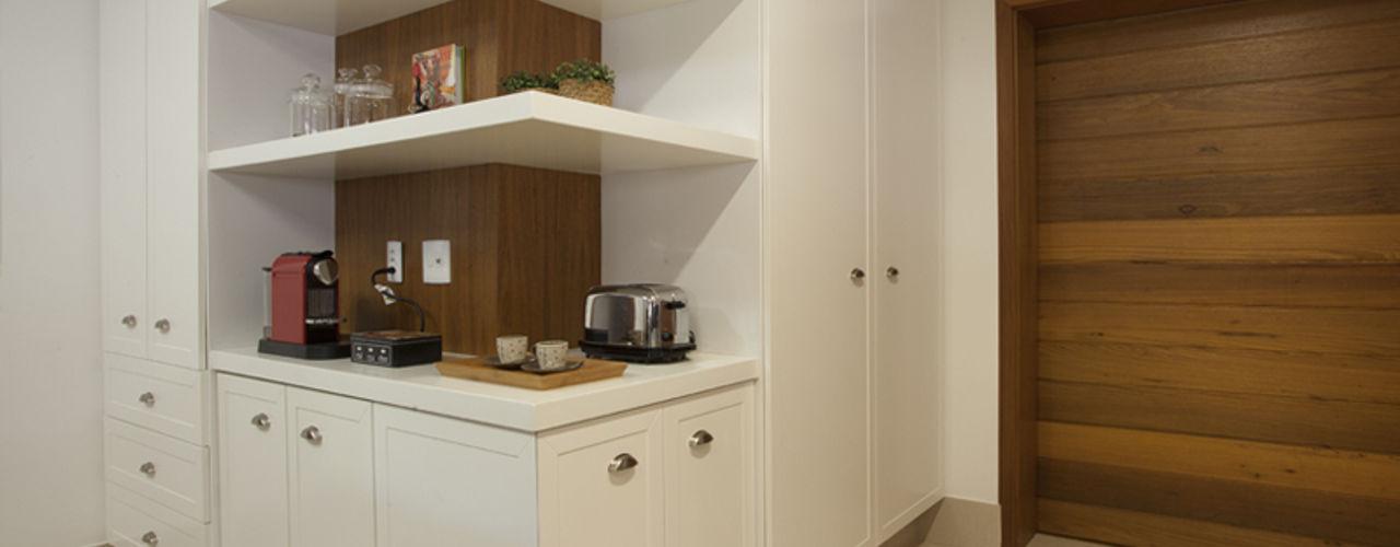 Residência Vale do Itamaracá Cria Arquitetura Cozinhas rústicas