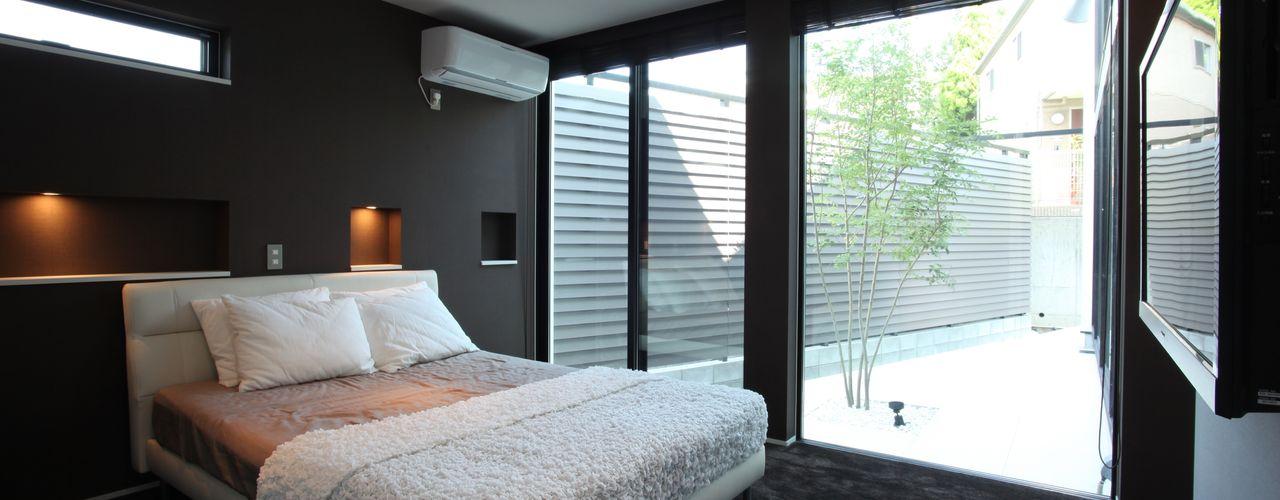 時の移ろいを感じる寝室 TERAJIMA ARCHITECTS/テラジマアーキテクツ モダンスタイルの寝室
