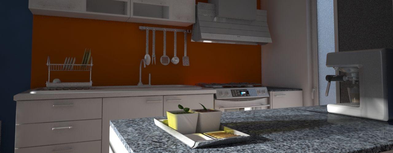 Axios Arquitectos Moderne Küchen