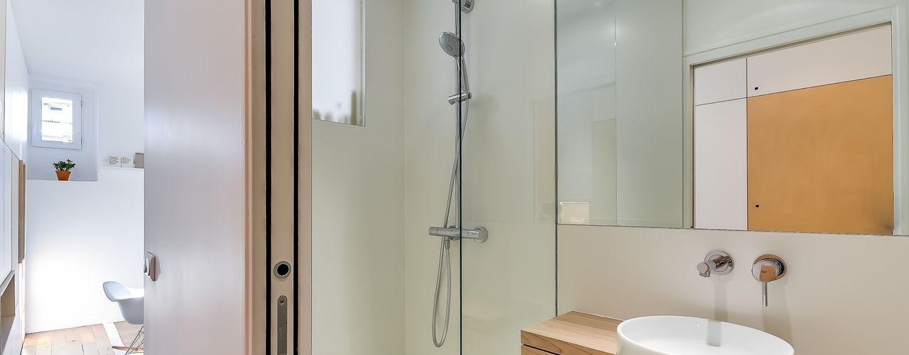 Appartement parisien Meero Salle de bain moderne