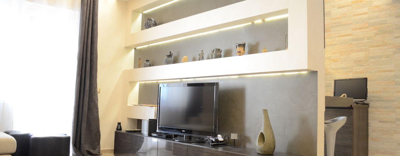Appartamento Roma Prati piano a Soggiorno moderno