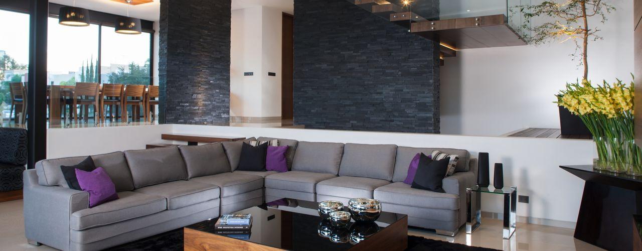 GLR Arquitectos Modern living room