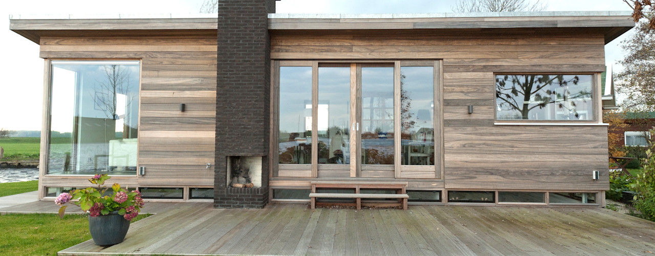 OX architecten Modern Houses