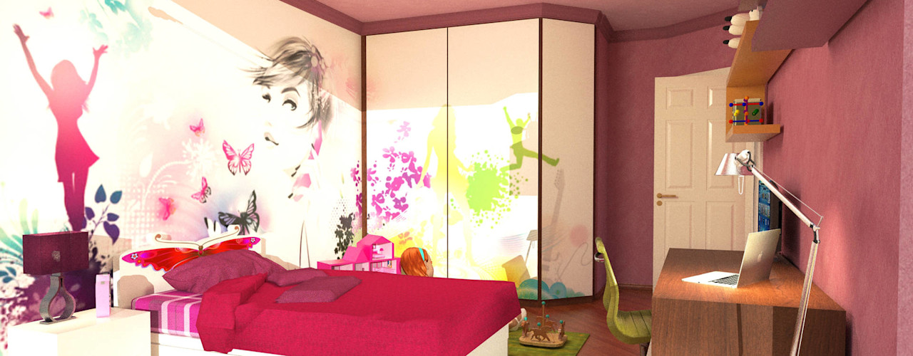Girl's room Planet G BedroomWardrobes & closets