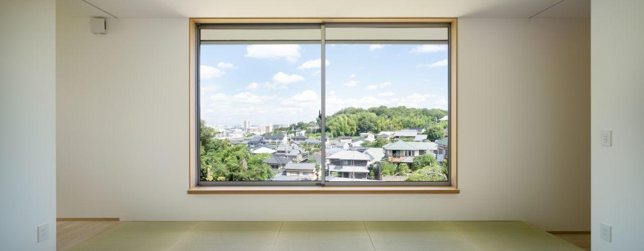 市原忍建築設計事務所 / Shinobu Ichihara Architects غرفة المعيشة الألياف الطبيعية White