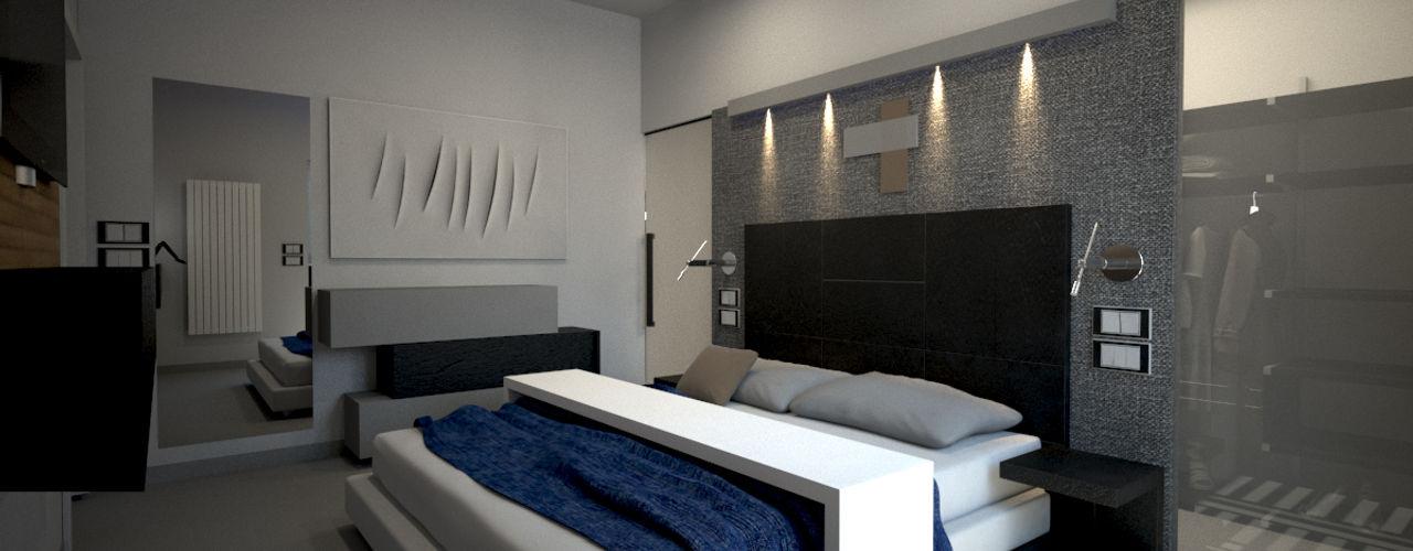 diparmaespositoarchitetti Minimalist bedroom
