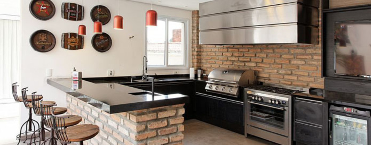 Moran e Anders Arquitetura Кухня в стиле модерн